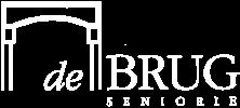 De Brug Seniorie logo wit
